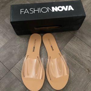 Fashion nova clear sandal 6